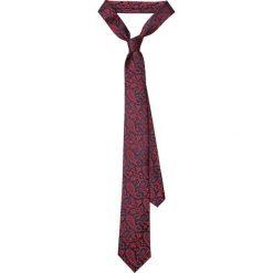 Krawat Czerwony Paisley. Czerwone krawaty i muchy LANCERTO, paisley, eleganckie. Za 139.90 zł.
