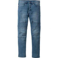 """Dżinsy ze stretchem Slim Fit Straight bonprix niebieski """"stone used"""". Jeansy męskie marki bonprix. Za 159.99 zł."""
