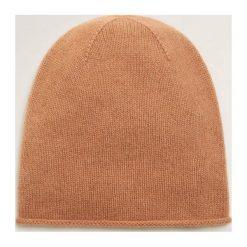 Mango - Czapka Perla. Pomarańczowe czapki i kapelusze damskie Mango, z dzianiny. Za 139.90 zł.