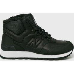 New Balance - Buty HL755MLA. Czarne buty sportowe męskie New Balance, z materiału. Za 549.90 zł.