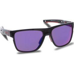 Okulary przeciwsłoneczne OAKLEY - Crossrange Xl OO9360-0558 Black Ink/Prizm Road. Czarne okulary przeciwsłoneczne męskie Oakley, z tworzywa sztucznego. W wyprzedaży za 579.00 zł.