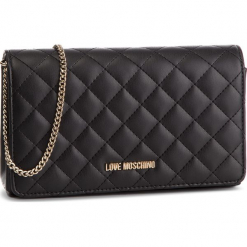 Torebka LOVE MOSCHINO - JC4095PP16LO0000  Nero. Czarne torebki do ręki damskie Love Moschino, ze skóry ekologicznej. Za 479.00 zł.