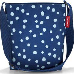 Torba Shoulderbag S Spots Navy. Niebieskie torby i plecaki dziecięce Reisenthel, z syntetyku. Za 69.00 zł.