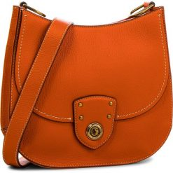 Torebka LAUREN RALPH LAUREN - Millbrook 431687503006 Orange. Brązowe listonoszki damskie Lauren Ralph Lauren, ze skóry ekologicznej. W wyprzedaży za 849.00 zł.