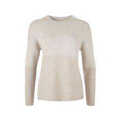 S.Oliver Sweter Damski 40 Brązowy. Brązowe swetry damskie S.Oliver. W wyprzedaży za 162.00 zł.