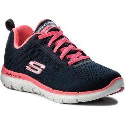 Buty SKECHERS - Break Free 12757/NVHP Navy/Hot Pink. Obuwie sportowe damskie marki Nike. W wyprzedaży za 199.00 zł.