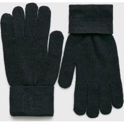 Trussardi Jeans - Rękawiczki. Czarne rękawiczki męskie TRUSSARDI JEANS, z jeansu. Za 149.90 zł.