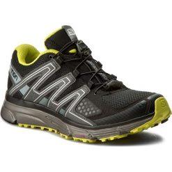 Buty SALOMON - X-Mission 3 393255 27 W0 Black/Magnet/Sulphur Spring. Czarne buty sportowe męskie Salomon, z materiału. W wyprzedaży za 309.00 zł.