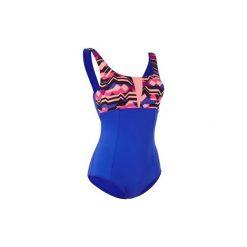Strój jednoczęściowy do aquafitness KAROL Ziza damski. Niebieskie kostiumy jednoczęściowe damskie NABAIJI. W wyprzedaży za 34.99 zł.