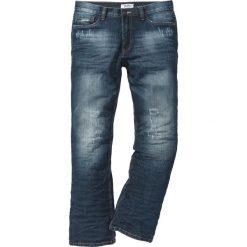 Dżinsy BOOTCUT bonprix ciemnoniebieski. Jeansy męskie marki bonprix. Za 109.99 zł.