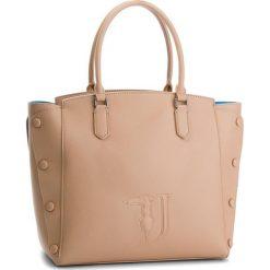 Torebka TRUSSARDI JEANS - Melissa 75B00452 W060. Brązowe torebki do ręki damskie TRUSSARDI JEANS, z jeansu. W wyprzedaży za 469.00 zł.