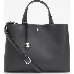 Torebka typu city - Czarny. Czarne torebki do ręki damskie Reserved. Za 129.99 zł.