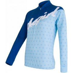 Sensor Koszulka Rowerowa Dres Stars Blue S. Niebieskie koszulki sportowe damskie Sensor, z dresówki. W wyprzedaży za 229.00 zł.