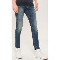 Jeansy skinny - Granatowy. Niebieskie jeansy męskie House. Za 99.99 zł.