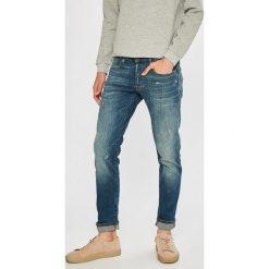 G-Star Raw - Jeansy 3301. Niebieskie jeansy męskie G-Star Raw. W wyprzedaży za 449.90 zł.