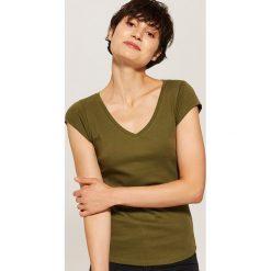 T-shirt basic - Zielony. T-shirty damskie marki DOMYOS. Za 19.99 zł.