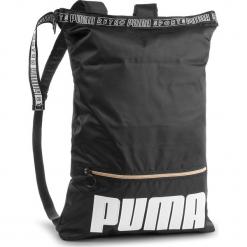 Plecak PUMA - Prime Street 2-Way Backpack 075410 01 Puma Black. Czarne plecaki damskie Puma, z materiału, sportowe. W wyprzedaży za 149.00 zł.