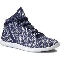 Buty UNDER ARMOUR - Ua W Studiolux Mid Twst 1265424-470 Bkn/Wht/Bkn. Niebieskie obuwie sportowe damskie Under Armour, z materiału. W wyprzedaży za 199.00 zł.