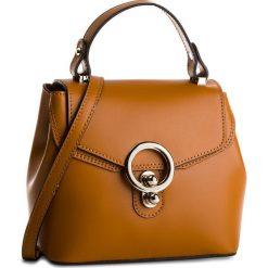 Torebka CREOLE - K10511 Brąz. Brązowe torebki do ręki damskie Creole, ze skóry. Za 189.00 zł.