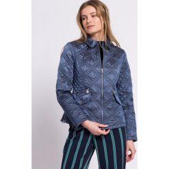 Trussardi Jeans - Kurtka. Szare kurtki damskie TRUSSARDI JEANS, z jeansu. W wyprzedaży za 799.90 zł.