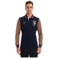 Galvanni Koszulka Polo Męska Rockhampton Xl Ciemny Niebieski. Niebieskie bluzki z długim rękawem męskie Galvanni, polo. W wyprzedaży za 299.00 zł.