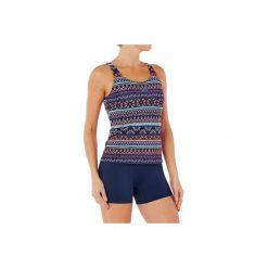 Strój jednoczęściowy pływacki Loran Plum damski. Niebieskie kostiumy jednoczęściowe damskie NABAIJI. Za 79.99 zł.