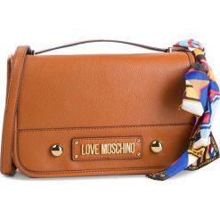 Torebka LOVE MOSCHINO - JC4035PP17LD0200  Cuoio. Brązowe listonoszki damskie Love Moschino, ze skóry ekologicznej. Za 719.00 zł.
