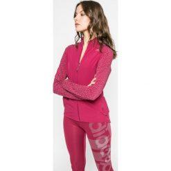 Adidas Performance - Bluza. Różowe bluzy damskie adidas Performance, z dzianiny. W wyprzedaży za 239.90 zł.
