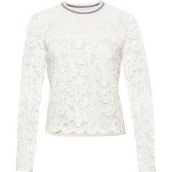 Sweter koronkowy bonprix biały. Swetry damskie marki KALENJI. Za 89.99 zł.