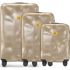Walizki Icon w zestawie 3 el. złoty. Walizki męskie Crash Baggage, z materiału. Za 2,628.00 zł.