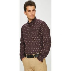 Pierre Cardin - Koszula. Brązowe koszule męskie Pierre Cardin, z bawełny, z klasycznym kołnierzykiem, z długim rękawem. Za 329.90 zł.