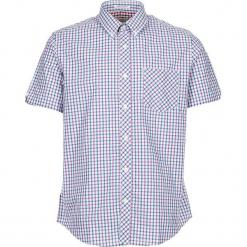 """Koszula """"SS House Check"""" w kolorze fioletowo-niebiesko-białym. Białe koszule męskie Ben Sherman, w kratkę, z bawełny, button down. W wyprzedaży za 130.95 zł."""