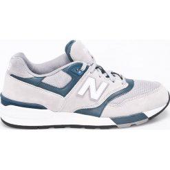 New Balance - Buty. Szare buty sportowe męskie New Balance, z gumy. W wyprzedaży za 239.90 zł.