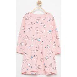 Bawełniana sukienka z nadrukiem - Różowy. Sukienki niemowlęce marki Pollena Savona. W wyprzedaży za 14.99 zł.