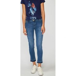 U.S. Polo - Jeansy Morgan. Niebieskie jeansy damskie U.S. Polo. W wyprzedaży za 279.90 zł.