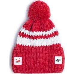 Czapka uniseks Polska PyeongChang 2018 CAU901 - czerwony wiśniowy. Czerwone czapki i kapelusze damskie 4f, z materiału. Za 119.00 zł.