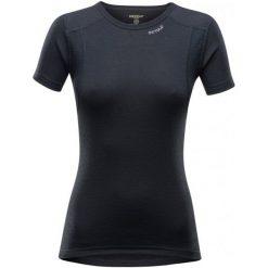 Devold Koszulka Damska Hiking Woman T-Shirt Black S. Czarne koszulki sportowe damskie Devold, z wełny, z krótkim rękawem. Za 239.00 zł.