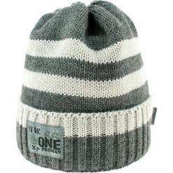 Czapka zimowa CZ 036F. Niebieskie czapki dla dzieci Proman, na zimę. Za 37.42 zł.