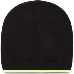 Czapka TRUSSARDI JEANS - Hat Knitted Fluo Stripe 57Z00077 K299. Czarne czapki i kapelusze męskie TRUSSARDI JEANS. Za 169.00 zł.