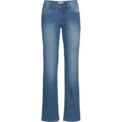 """Dżinsy """"authentik-stretch"""" WIDE bonprix niebieski. Jeansy damskie marki bonprix. Za 79.99 zł."""