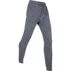 Spodnie dresowe miękkie niczym kaszmir, długie, Level 1 bonprix szary melanż. Szare spodnie dresowe damskie bonprix, melanż, z dresówki. Za 109.99 zł.