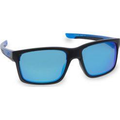 Okulary przeciwsłoneczne OAKLEY - Mainlink OO9264-2557 Matte Black/Sapphire/Prizm Sapphire Polarized. Czarne okulary przeciwsłoneczne męskie Oakley, z tworzywa sztucznego. W wyprzedaży za 719.00 zł.