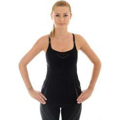 Brubeck Koszulka damska z topem czarna  r. M (CM10070). T-shirty damskie Brubeck. Za 73.00 zł.