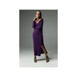 Sukienka the Ruler - fioletowa. Fioletowe sukienki damskie Madnezz, z aplikacjami, z bawełny. Za 279.00 zł.