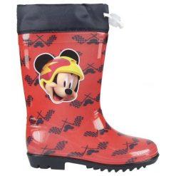 Disney Kalosze Chłopięce Myszka Miki 27 Czerwone. Kalosze chłopięce marki bonprix. Za 69.00 zł.