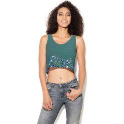 Colour Pleasure Koszulka damska CP-035 251 zielona r. XS-S. T-shirty damskie Colour Pleasure. Za 64.14 zł.
