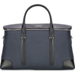 Torba podróżna 87-3U-205-7. Czarne torby na laptopa damskie Wittchen, w paski, z nylonu. Za 679.00 zł.