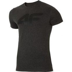 T-shirt męski TSM025 - ciemny szary melanż. Szare t-shirty męskie 4f, melanż, z bawełny. W wyprzedaży za 59.99 zł.