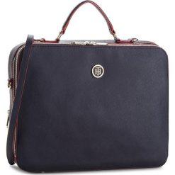 Torba na laptopa TOMMY HILFIGER - Honey Tech Work Bag AW0AW05678 905. Niebieskie torby na laptopa damskie Tommy Hilfiger, ze skóry ekologicznej. Za 749.00 zł.