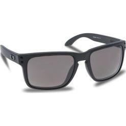 Okulary przeciwsłoneczne OAKLEY - Holbrook OO9102-B5 Steel/Prizm Daily Polarized. Szare okulary przeciwsłoneczne męskie Oakley, z tworzywa sztucznego. W wyprzedaży za 649.00 zł.